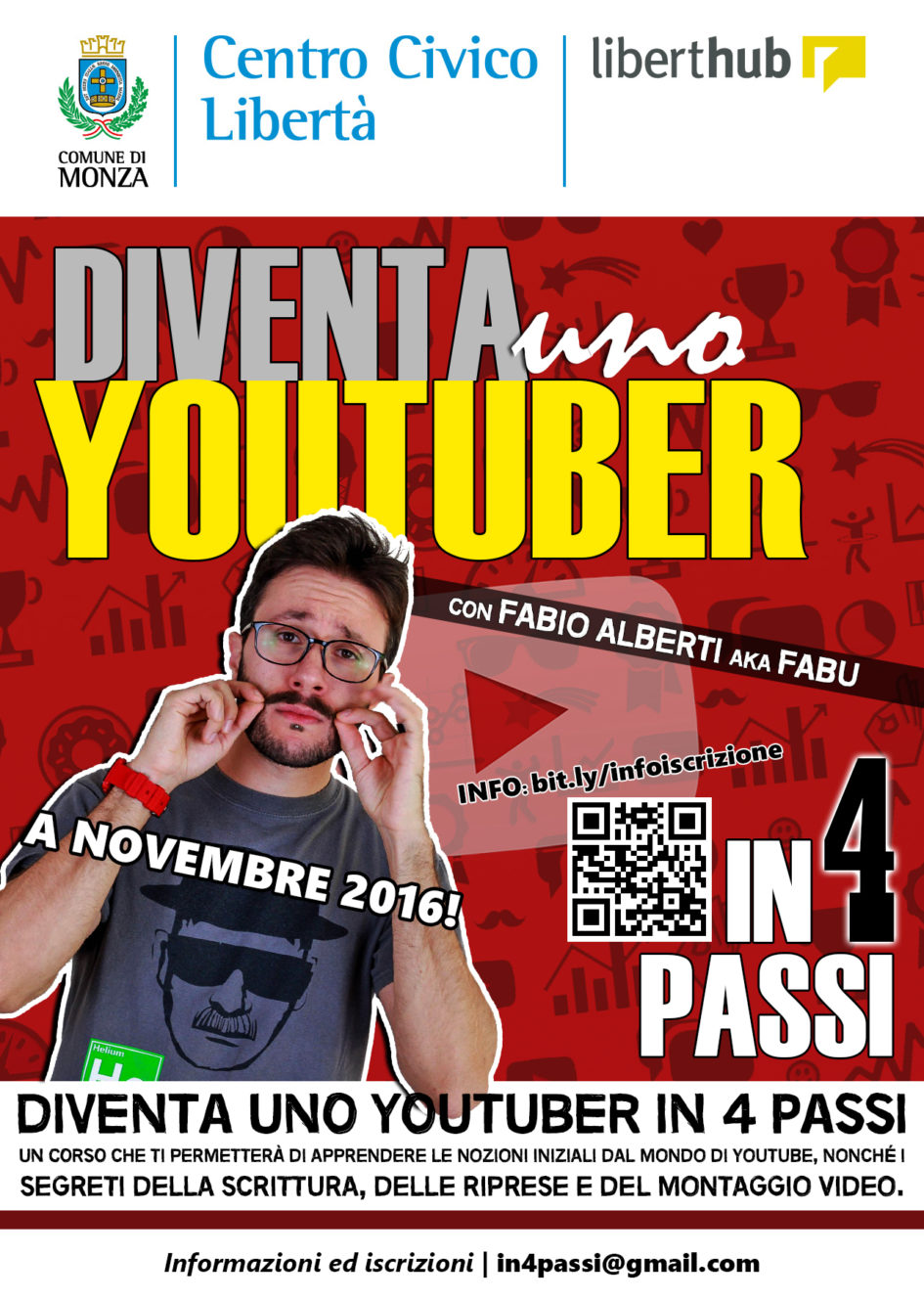 corso youtuber in 4 passi